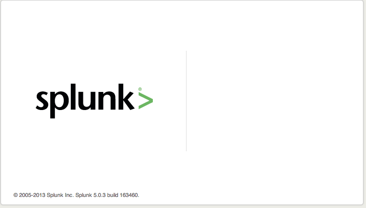 Splunk Web Screenshot